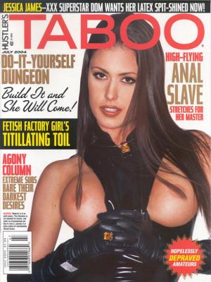 Hustler's Taboo - July 2004