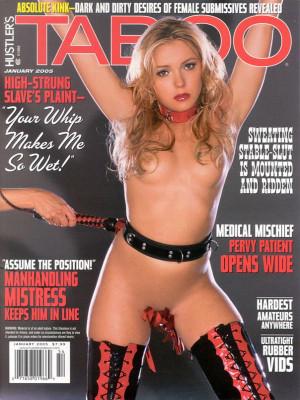 Hustler's Taboo - January 2005