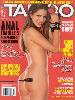Hustler's Taboo - April 2005