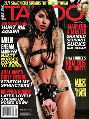 Hustler's Taboo - August 2007