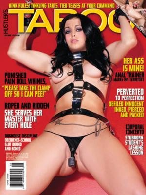 Hustler's Taboo - June 2009