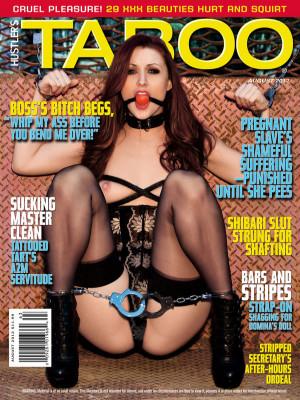 Hustler's Taboo - August 2012