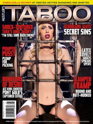 Hustler's Taboo - November 2012