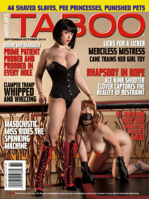 Hustler's Taboo - September/October 2014