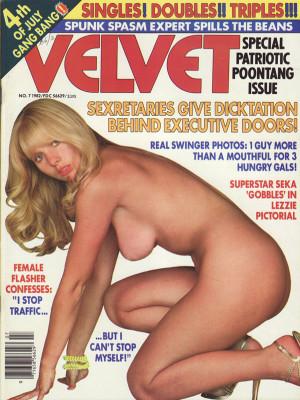 Velvet - July 1982