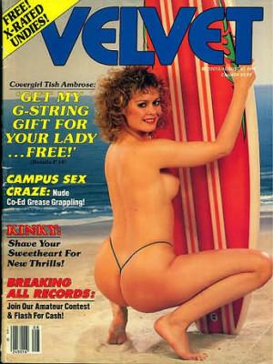 Velvet - August 1986