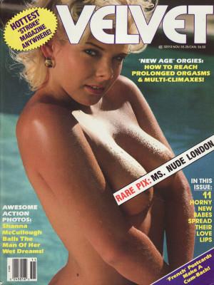 Velvet - November 1988