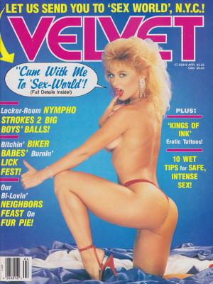 Velvet - April 1990