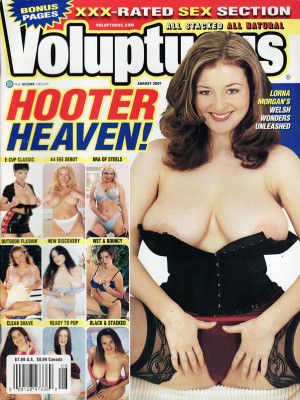 Voluptuous - August 2001